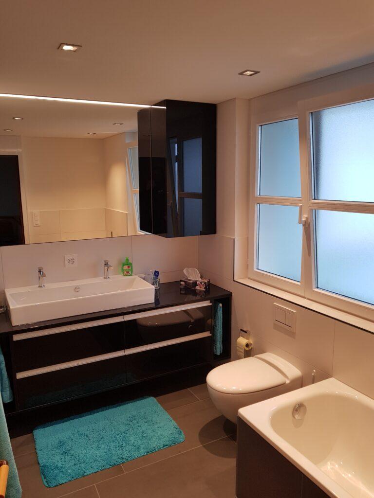 Bekannt Sanierung von Dusche, Badewanne, Waschtisch und Wand WC - WWS AG EC65